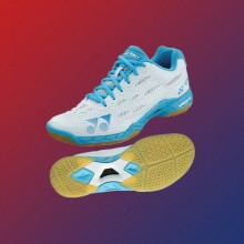 YONEX POWER CUSHION AERUS LADIES PALE BLUE