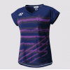 YONEX WOMEN'S TOUR ELITE T-SHIRT 20349 DARK PURPLE
