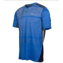 BABOLAT V-NECK PERF T-SHIRT BLUE