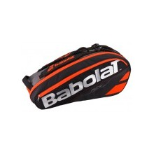 Babolat Racket Holder X6 Pure Black Yellow