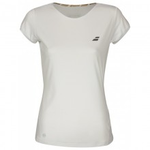 BABOLAT CAP SLEEVE PERF WOMEN WHITE 2018