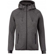 BAD ADDICT VESTE CAPUCHE MEN GRIS