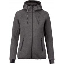 BAD ADDICT VESTE CAPUCHE WOMEN GRIS