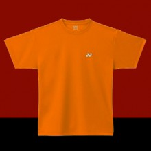 YONEX TEE SHIRT PLAIN ORANGE