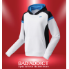 YONEX SWEAT HOODIE MEN YM0007 WHITE