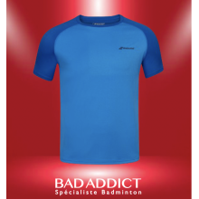 T-SHIRT BABOLAT HOMME PLAY BLEU ESTATE