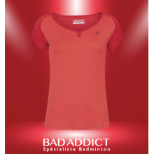 T-SHIRT BABOLAT FEMME PLAY RED