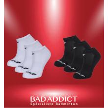 BABOLAT INVISIBLE 3 PAIR PACK BLANC/NOIR